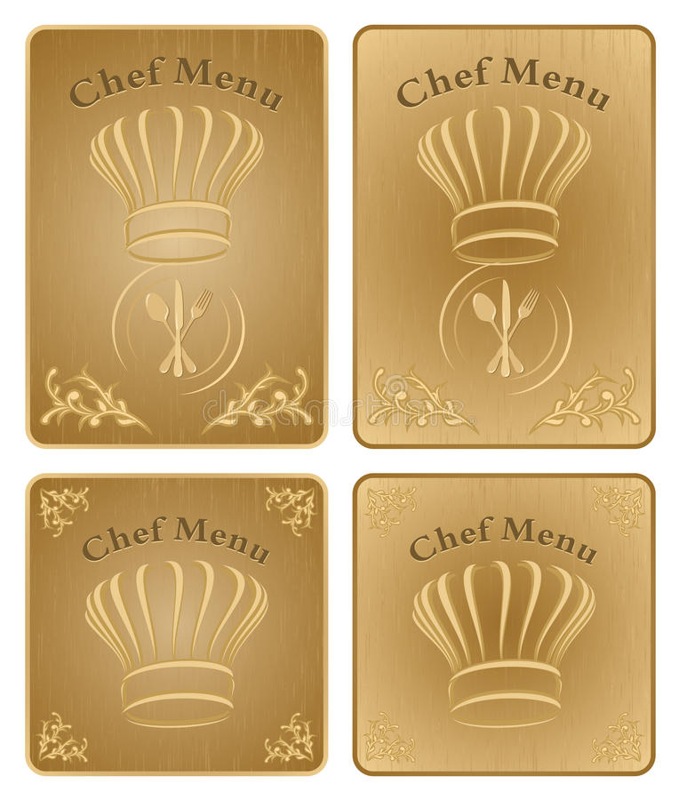 Download Chef Menu Cover Or Board - Vector Set Stock Vector - Image: 24569314