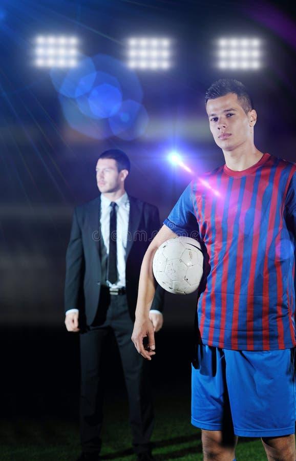 Chef och lagledare för yrkesmässig sport fotografering för bildbyråer