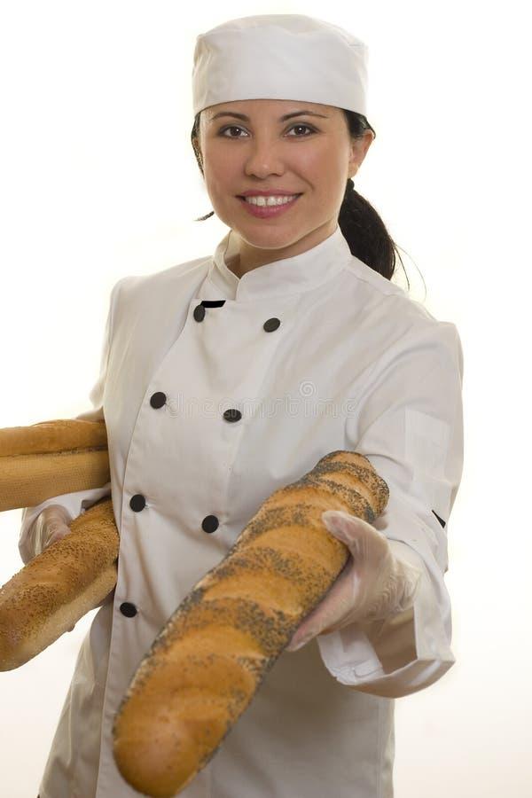 Chef oder Lebensmitteldienstarbeitskraft lizenzfreies stockbild