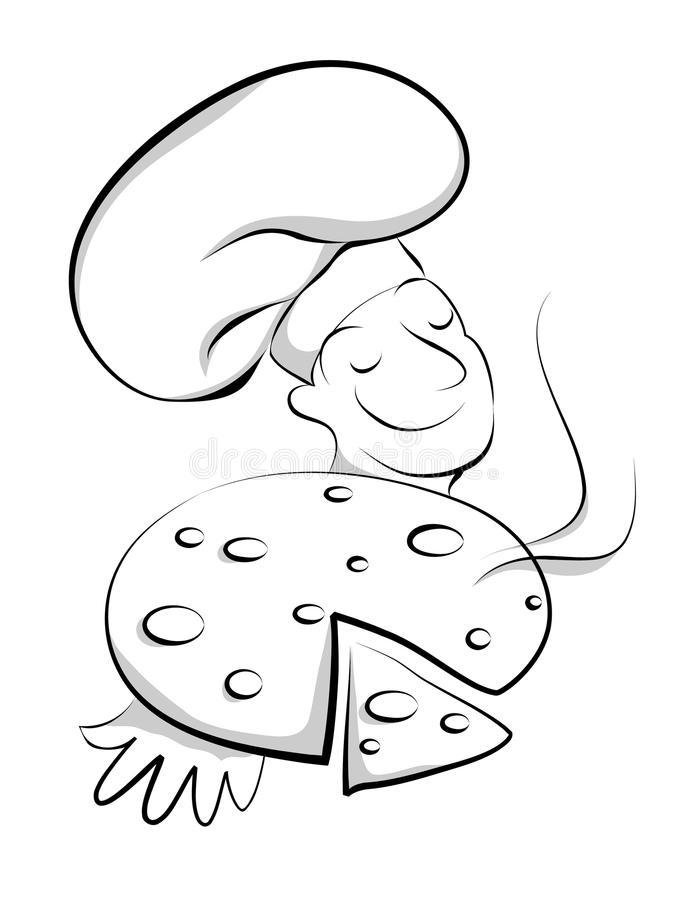 Download Chef with pizza stock vector. Illustration of graphic - 11234699