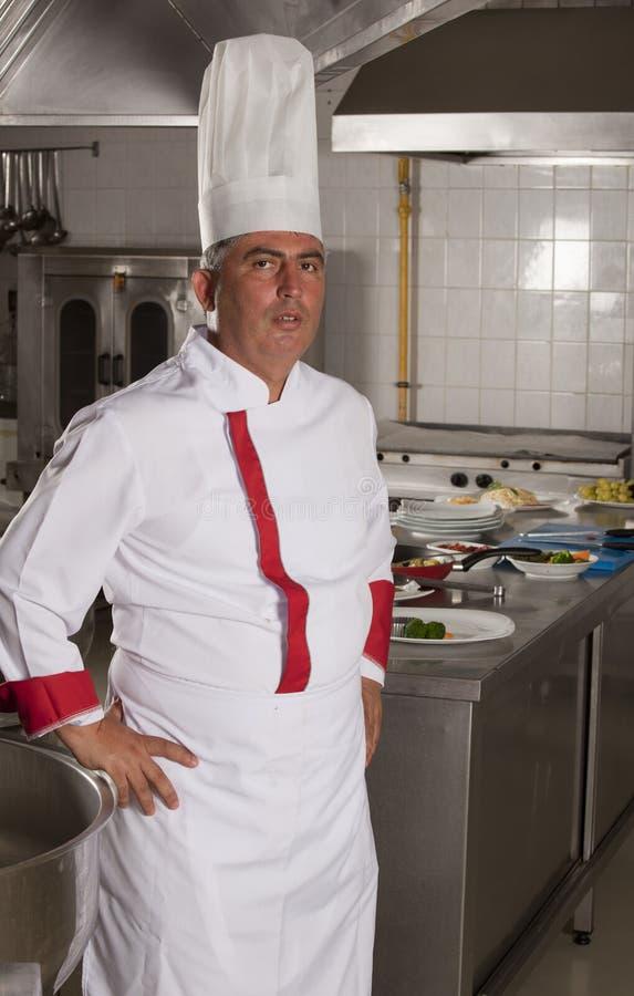 Chef portrait stock photography