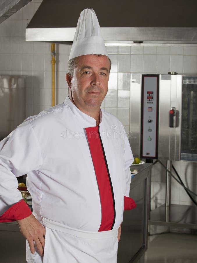 Chef portrait stock photos