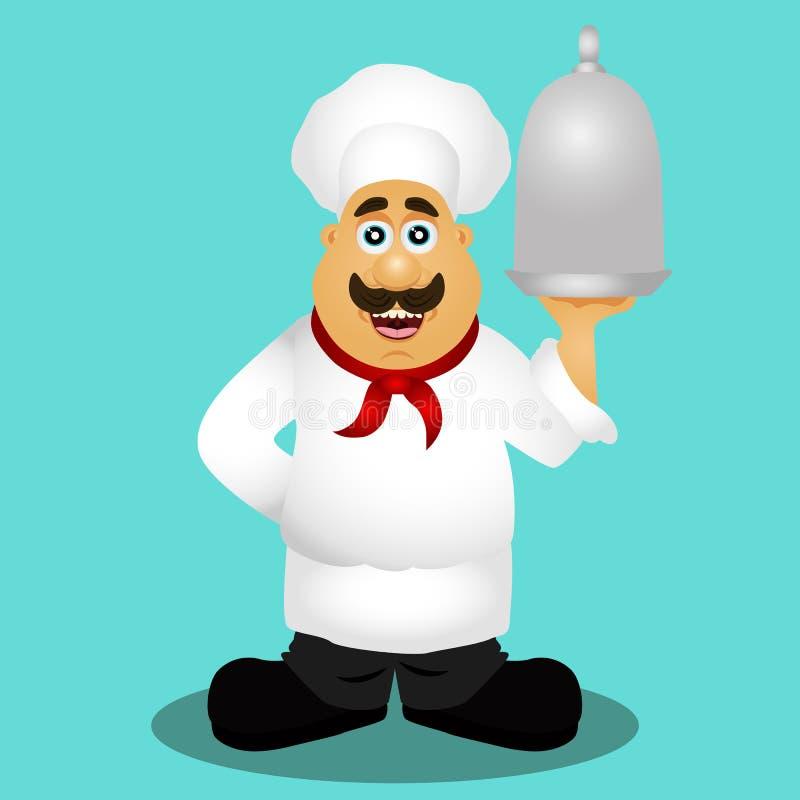 chef professione royalty illustrazione gratis