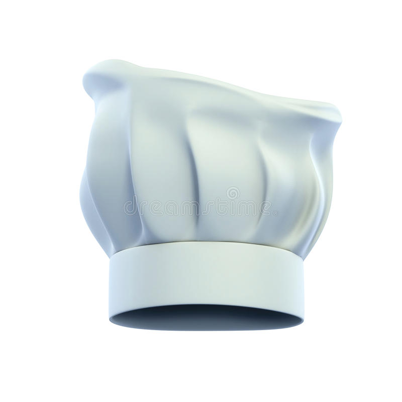 Chef's hat, cook cap royalty free illustration