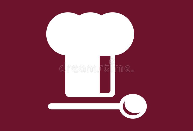 Download Chef's Hat With Spoon Royalty Free Stock Images - Image: 12430349