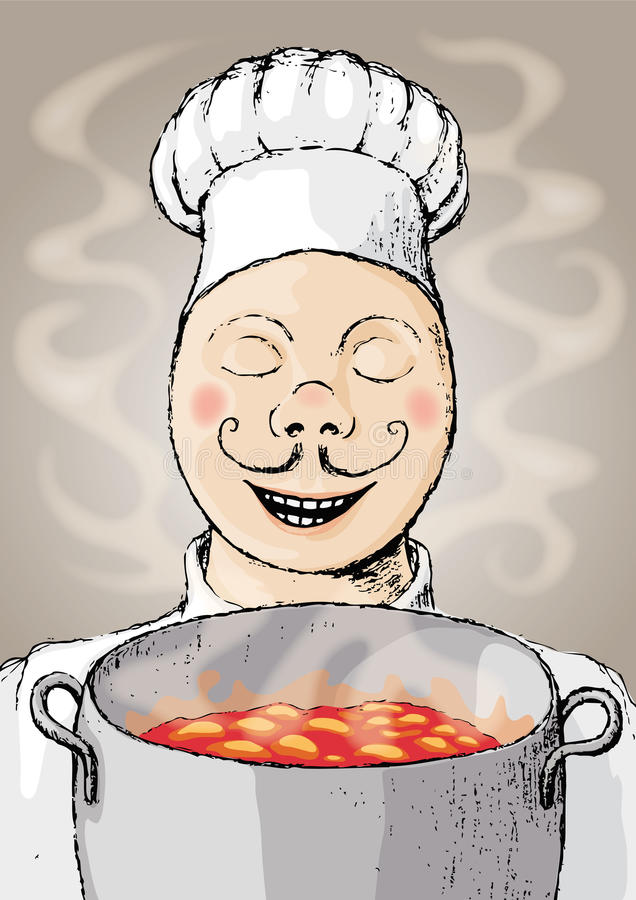 Download Chef (vector) Stock Photography - Image: 9627662