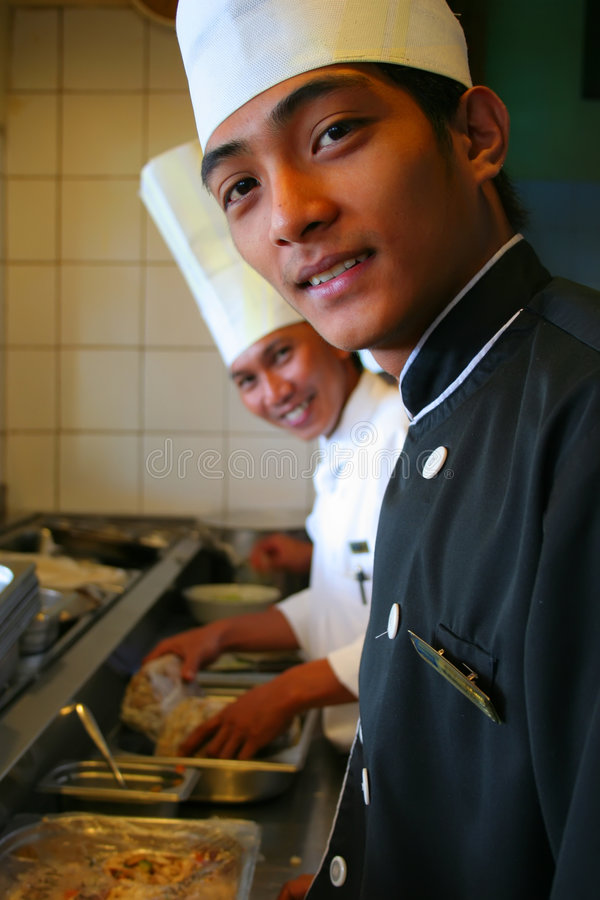 Download Chef At Work Royalty Free Stock Images - Image: 3998499