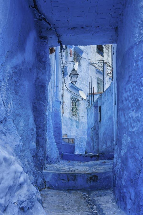 chefchaouen摩洛哥 免版税库存图片