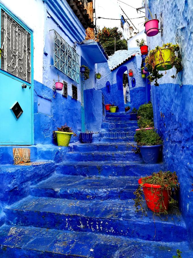 Chefchaouen images stock