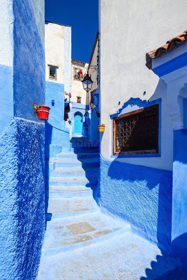 Chefchaouen i Marocko arkivfoton
