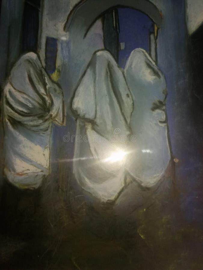 Chefchaouen la CIUDAD AZUL fotos de archivo libres de regalías