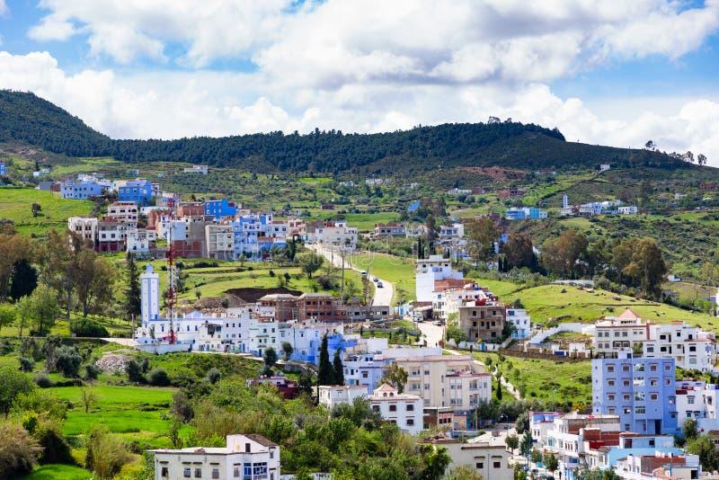 Chefchaouen - le Maroc photographie stock