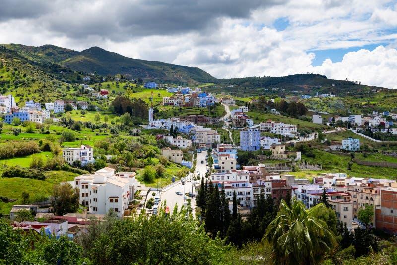 Chefchaouen - le Maroc photos stock