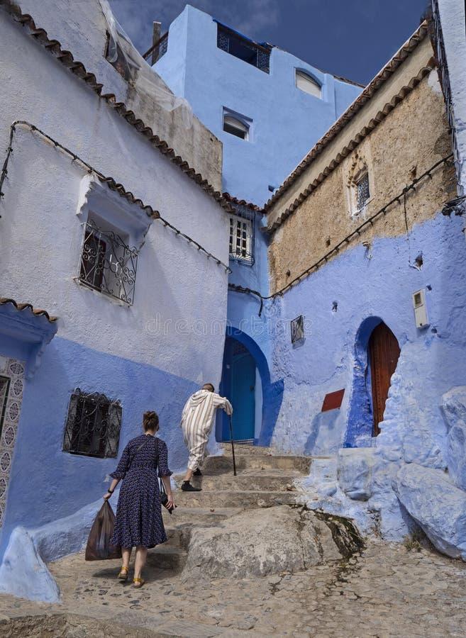 Chefchaouen, Marruecos imagenes de archivo