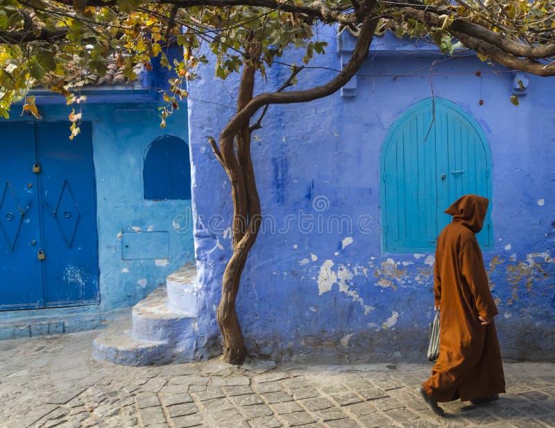 Chefchaouen Medina immagine stock