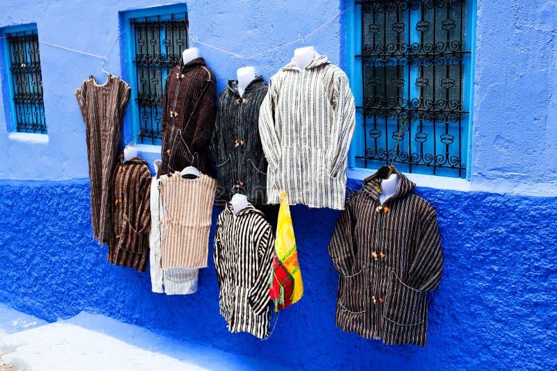 Chefchaouen Medina azul, Marrocos imagem de stock