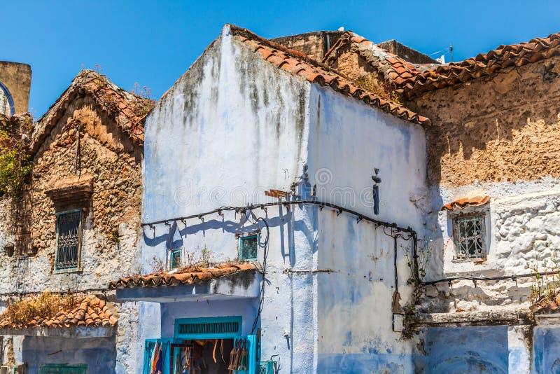 Chefchaouen Medina viejo, Marruecos, África fotografía de archivo