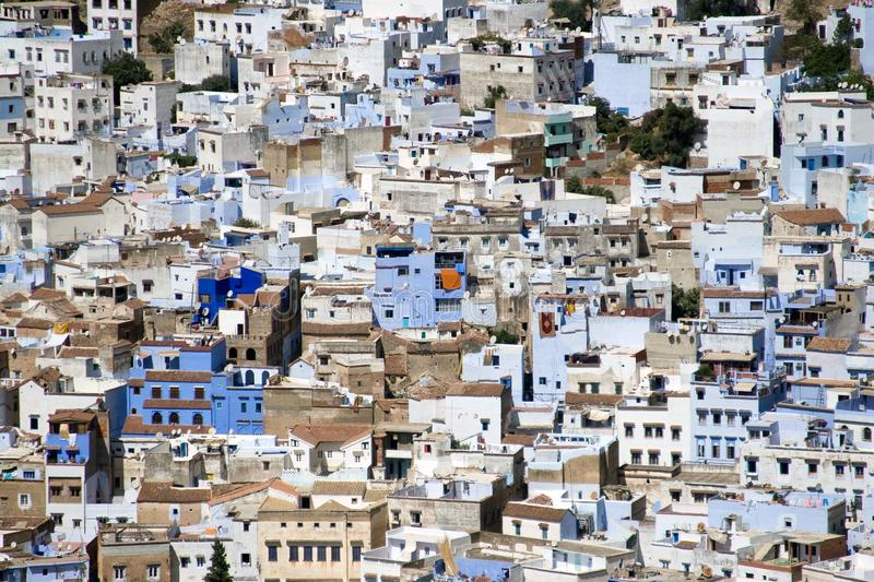 Download Chefchaouen, Morocco - Aerial View Of Medina Stock Image - Image of arab, mosque: 27185639