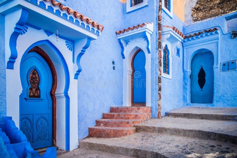Chefchaouen, Morocco. The beautiful blue medina of Chefchaouen in Morocco