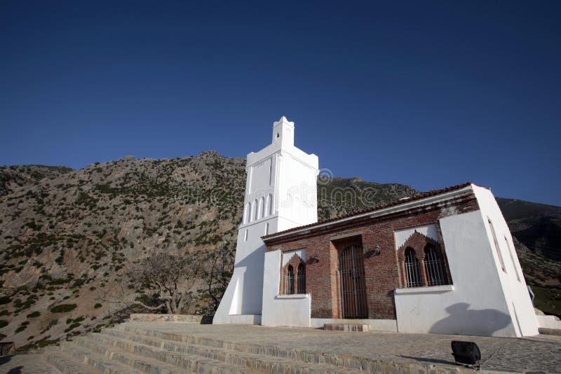 Chefchaouen, mosquée du Maroc image stock