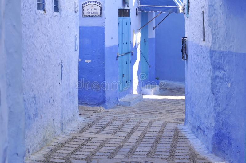 Chefchaouen town, Morocco royalty free stock images