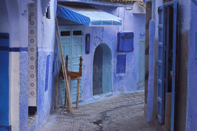 Chefchaouen town, Morocco stock images