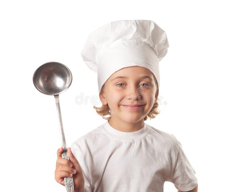 Chefe-fogão imagem de stock royalty free
