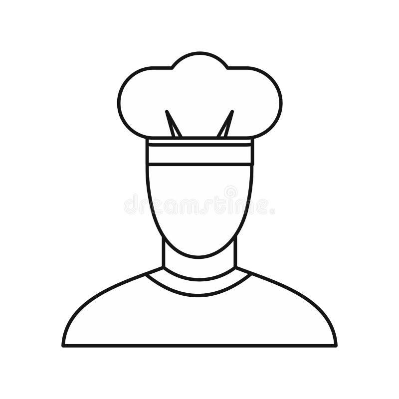 Chefikone, Entwurfsart vektor abbildung