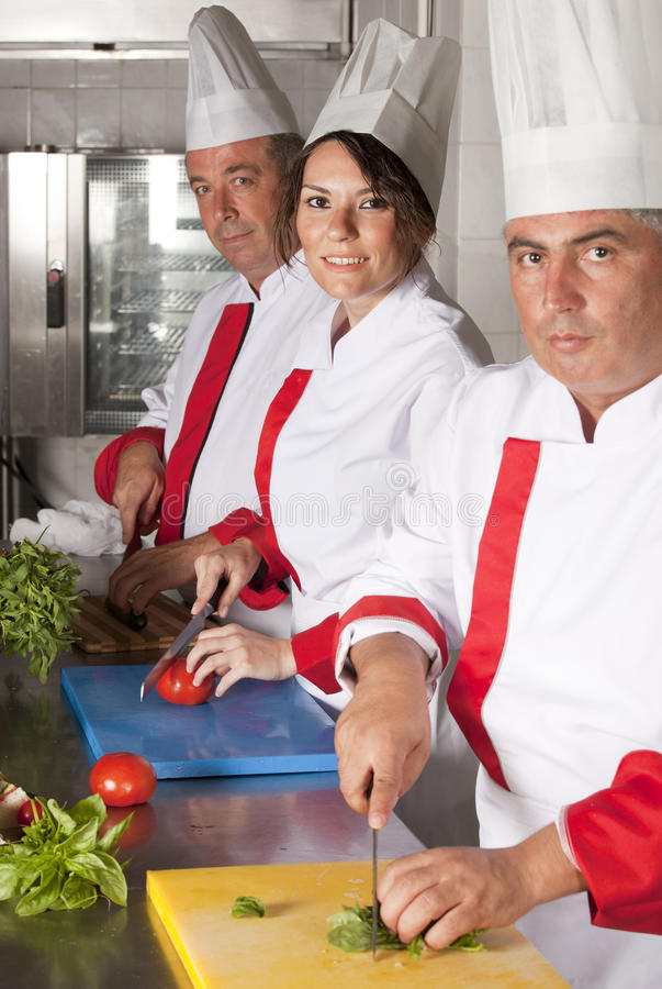 Chefs stock photography