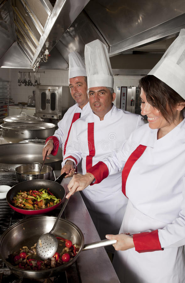 Chefs royalty free stock photos