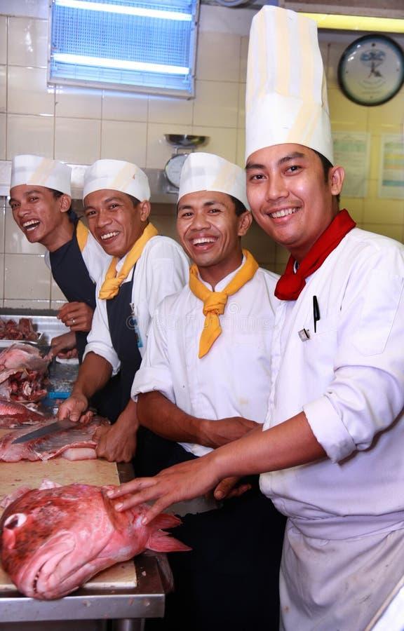 Chefs stockfotografie