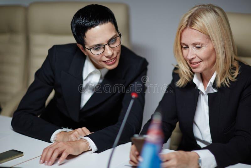 Chefs féminins photo libre de droits
