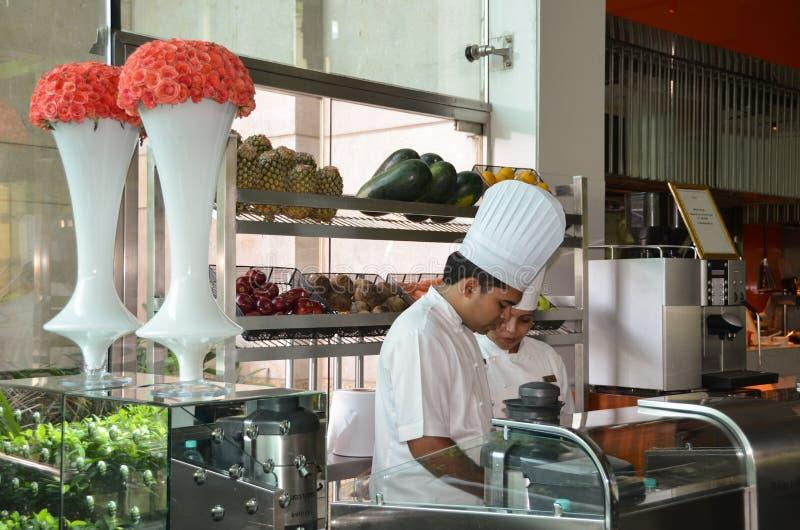 Chefs indiens - Delhi, Inde photographie stock libre de droits