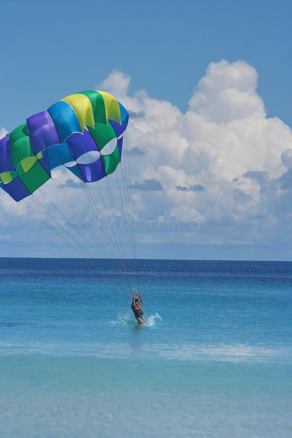 Chegada em férias do mar. fotografia de stock royalty free
