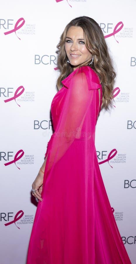 Chegadas cor-de-rosa quentes do partido de BCRF 2019 foto de stock royalty free