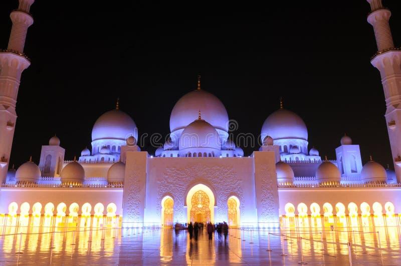 Cheik Zayed Grand Mosque photos libres de droits
