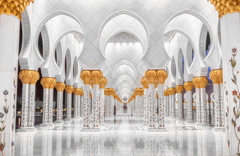 Cheik Zayed Mosque photographie stock