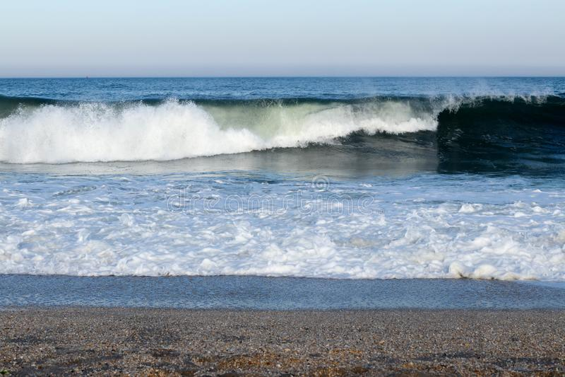 Cheire o mar e sinta o céu! imagens de stock royalty free