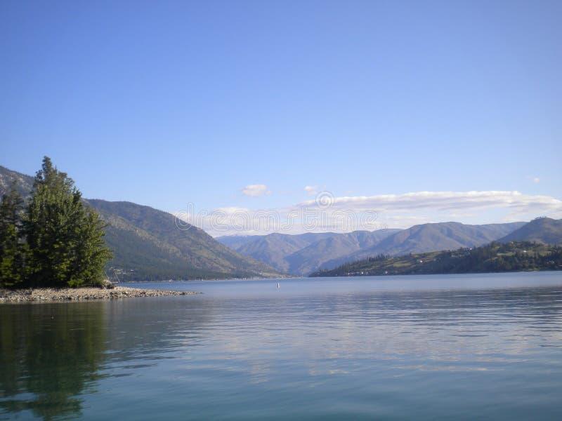 chelan jezioro zdjęcie royalty free