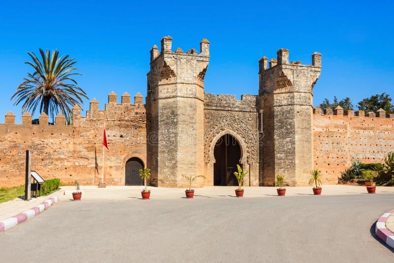 Chellah em Rabat fotos de stock