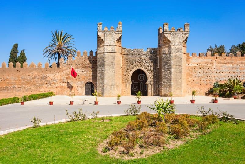 Chellah em Rabat fotografia de stock