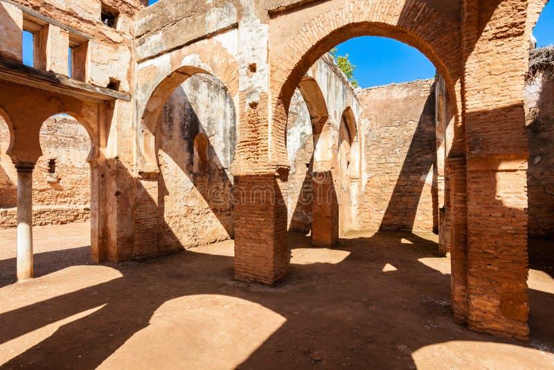 Chellah em Rabat fotos de stock royalty free