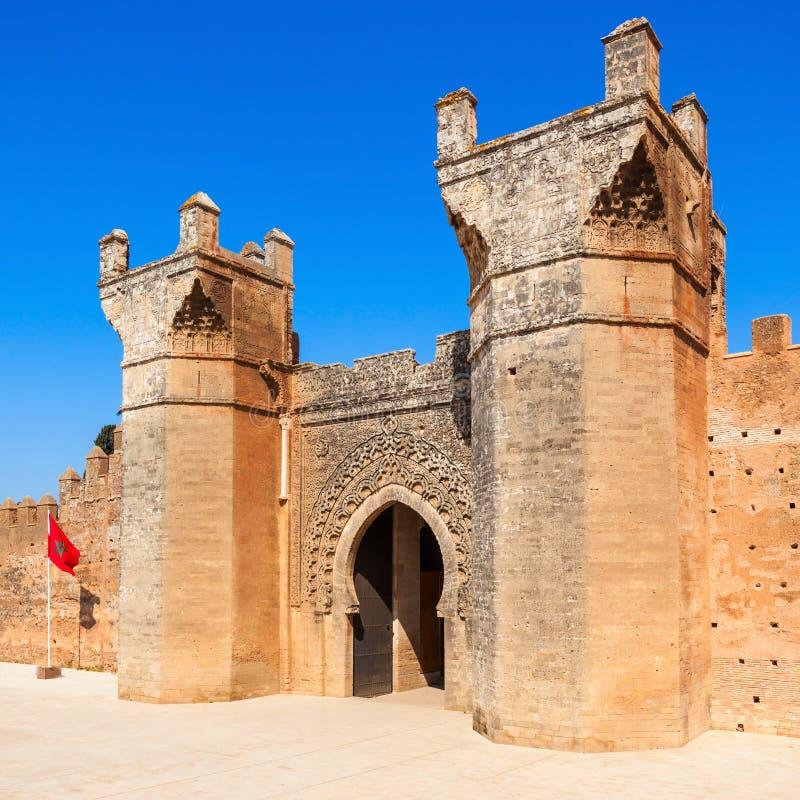 Chellah in Rabat royalty-vrije stock foto