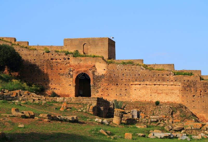 Chellah, Rabat, Marokko stockbild
