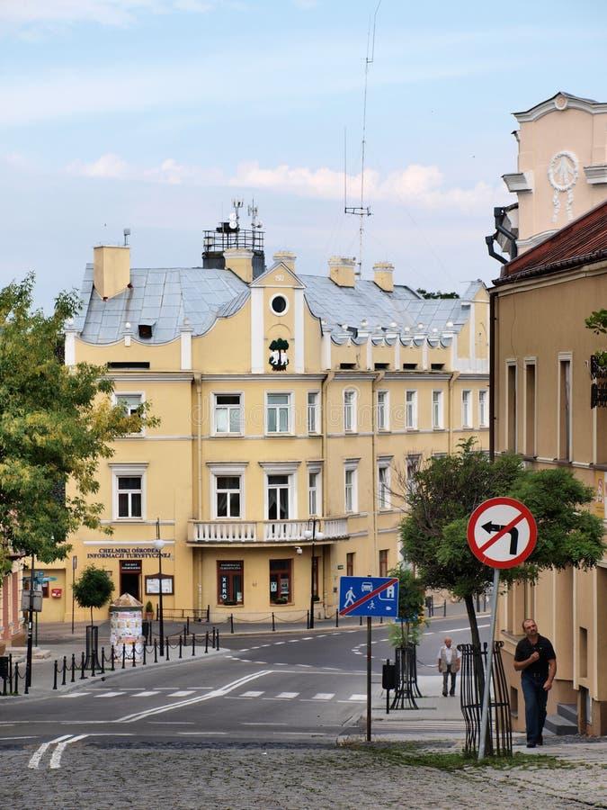 Chelm, Polen royalty-vrije stock afbeeldingen