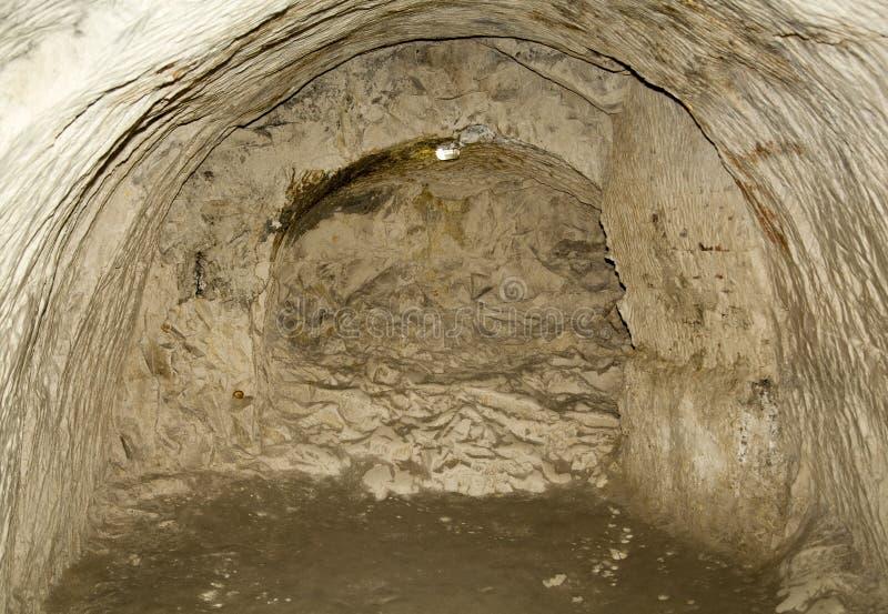 Chelm-Stadtkreide-Tunnels lizenzfreie stockbilder