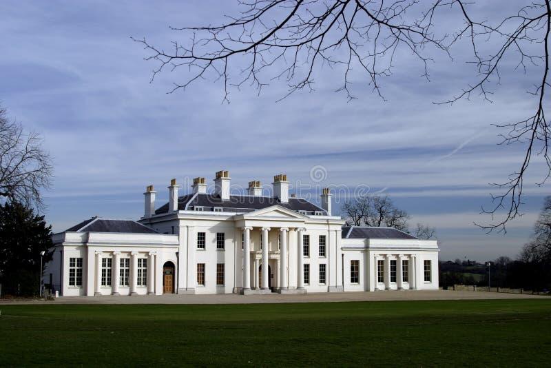 chelmsford房子hylands 免版税库存照片