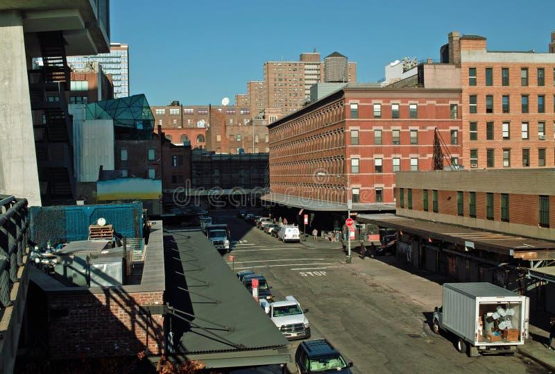 chelsea城市曼哈顿纽约 库存图片