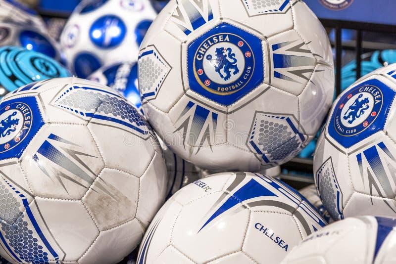 Chelsea balls royalty free stock photos