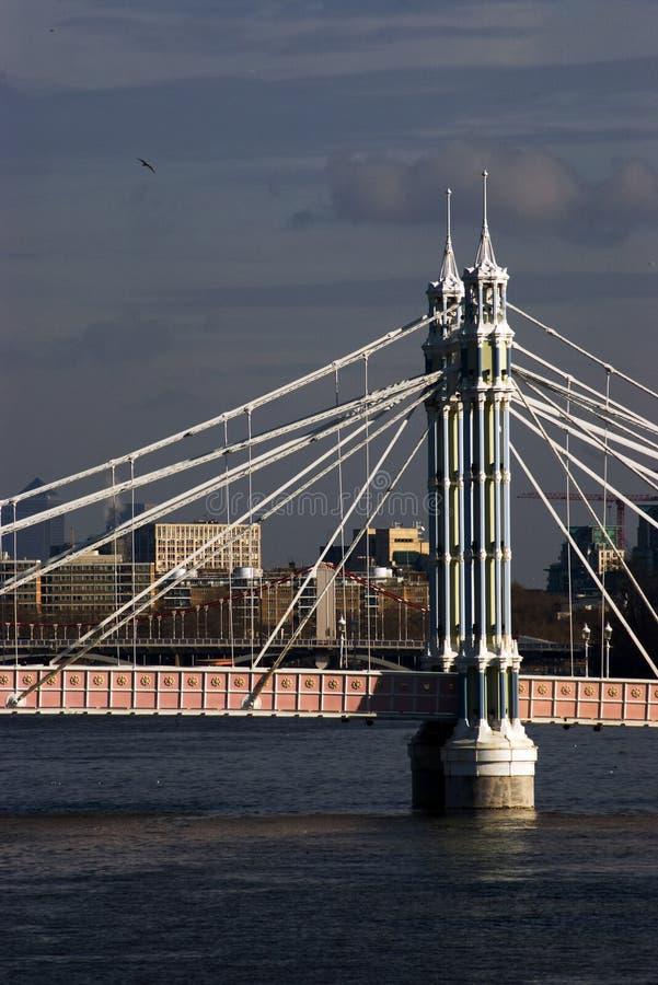 Chelsea Brücke stockbild